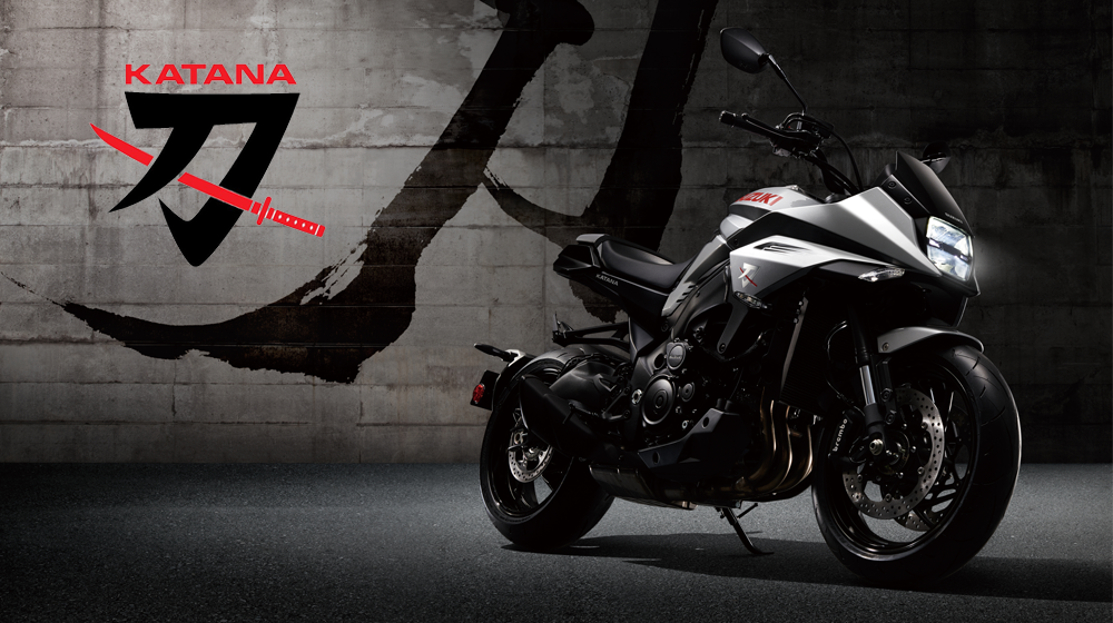 All new Suzuki KATANA